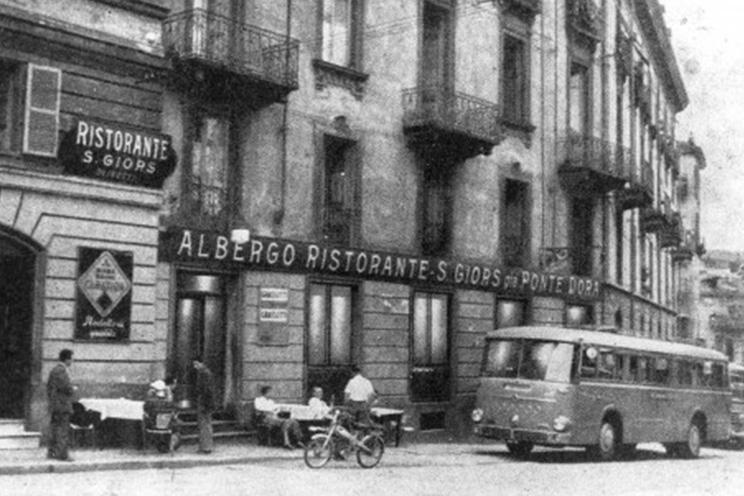 La storia san giors for Noto architetto torinese